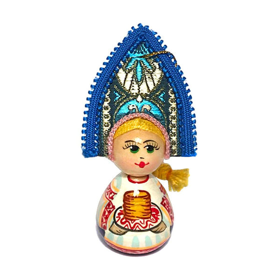 "Wooden Ornament ""Kokoshnik Blini"""
