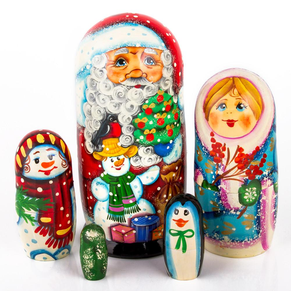 Father Frost & Friends Matryoshka