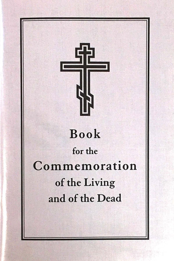 Book for the Commemoration of the Living and the Dead
