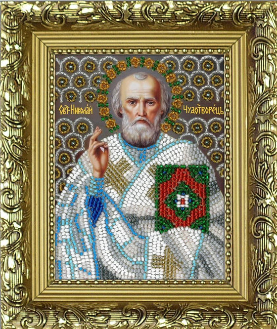Icon Beading Kit: St. Nicholas