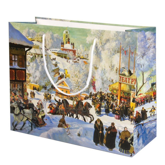 Gift Bag: Winter Village (Medium)