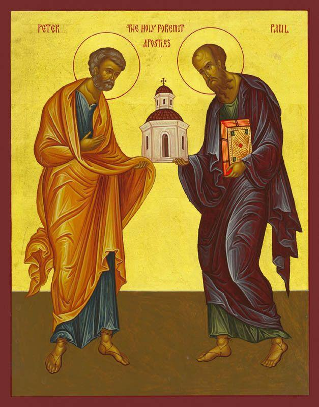 St. Peter & St. Paul the Holy Apostles Icon