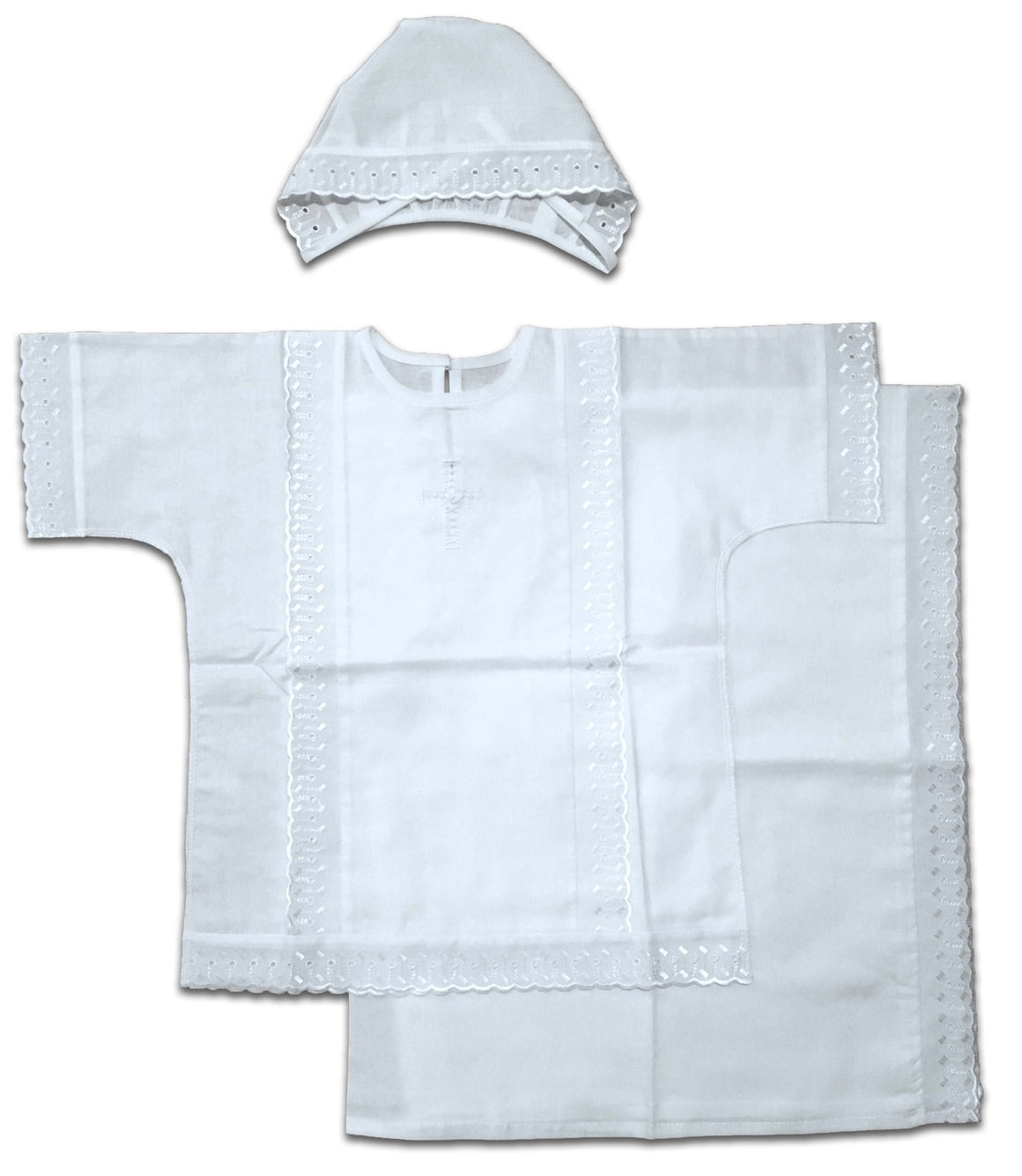 Simple Baptismal Gown (6-12 months)