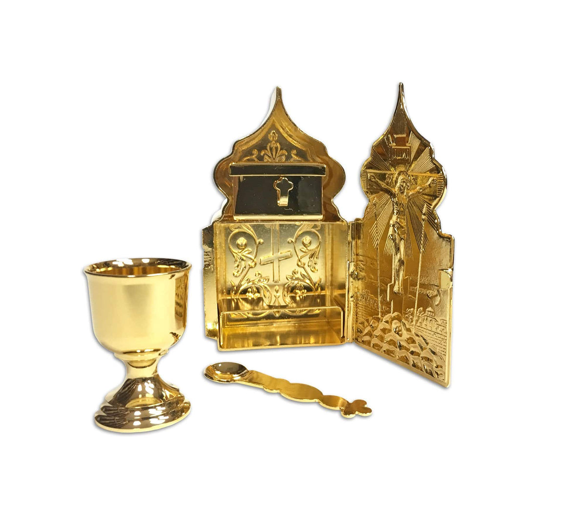 Travel Tabernacle: Gold-plated