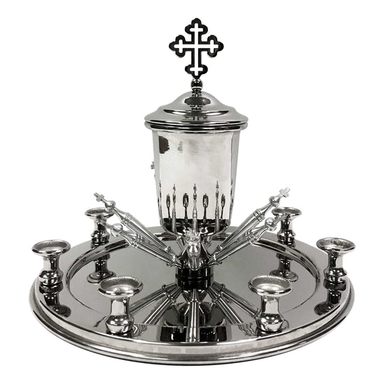 Holy Unction Kit: Nickel Plated