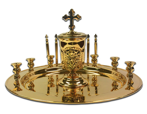 Holy Unction Kit: Gold Plated