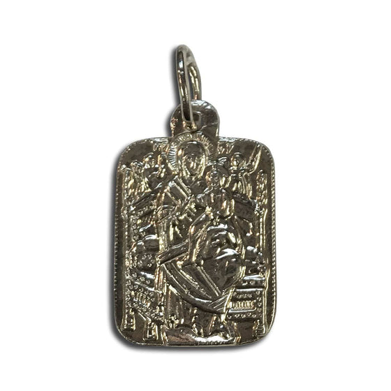 "Mother of God ""Queen of All"" Icon Pendant"