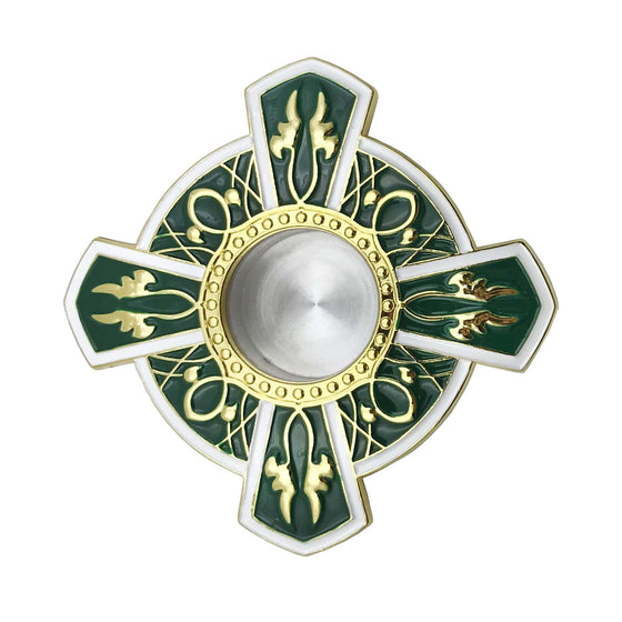 Icon Reliquary: Green Enamel (Medium)