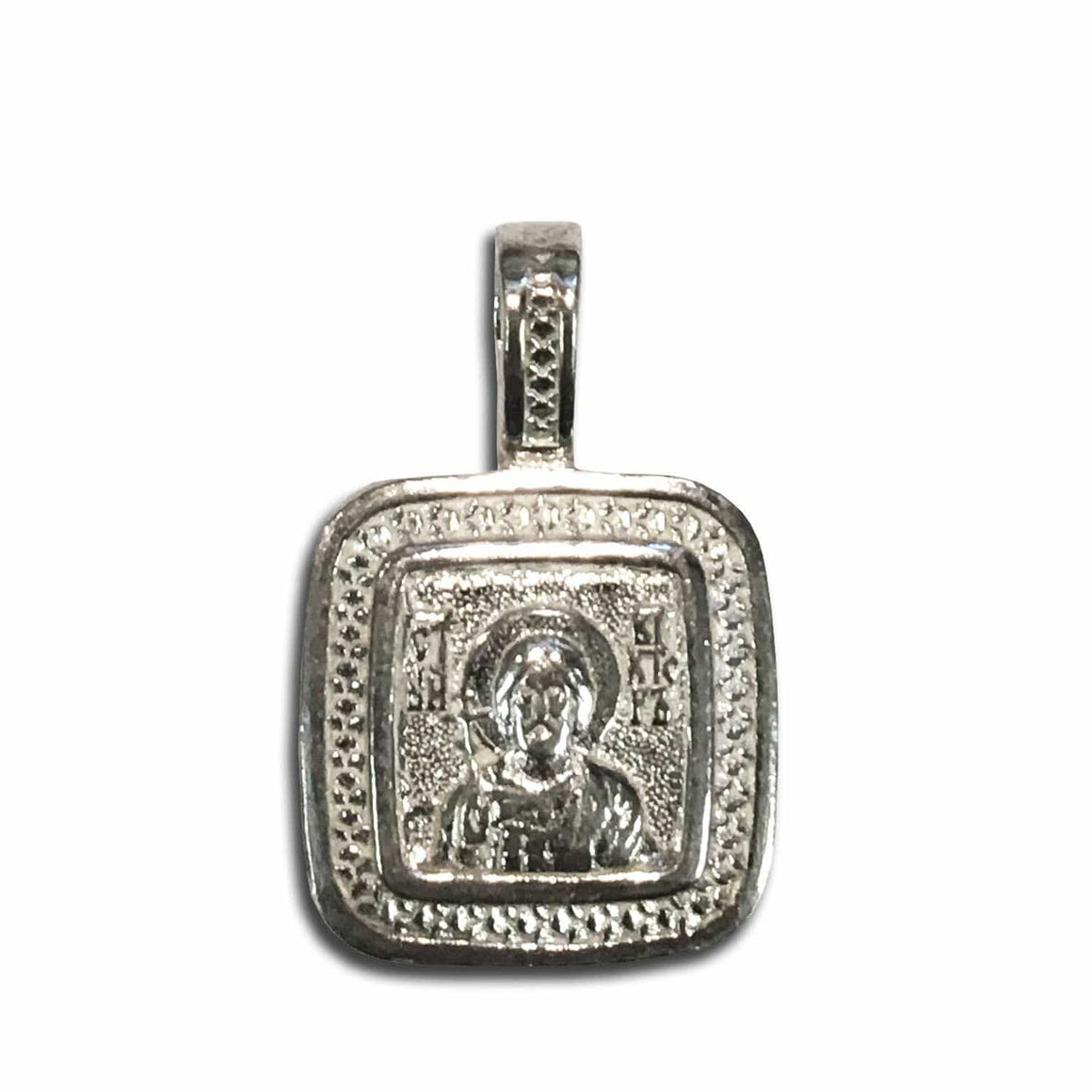 St. Victor & Guardian Angel Icon Pendant