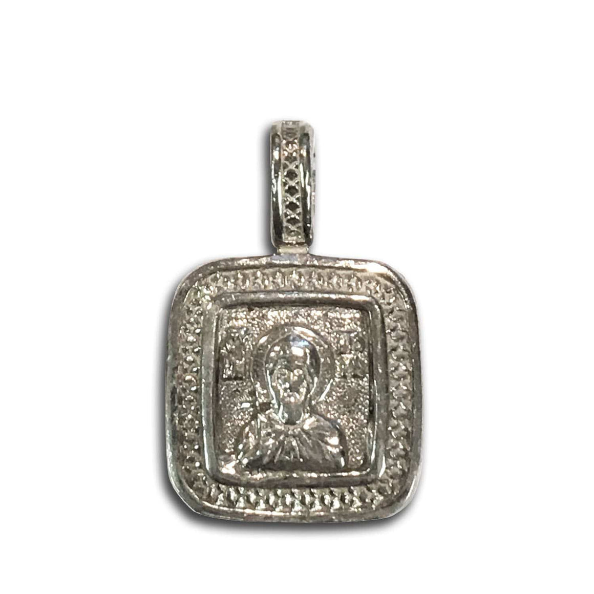 St. Igor & Guardian Angel Icon Pendant