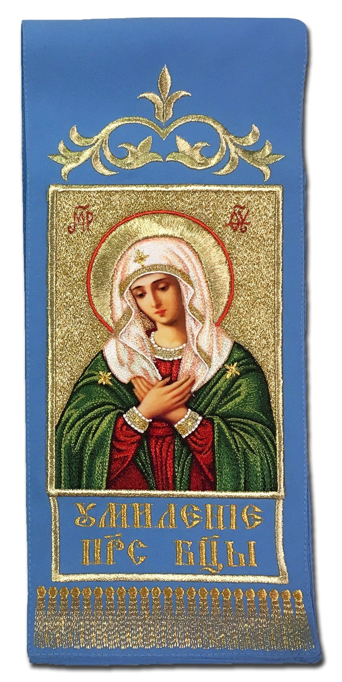 "Gospel Marker: Mother of God ""Tenderness"""