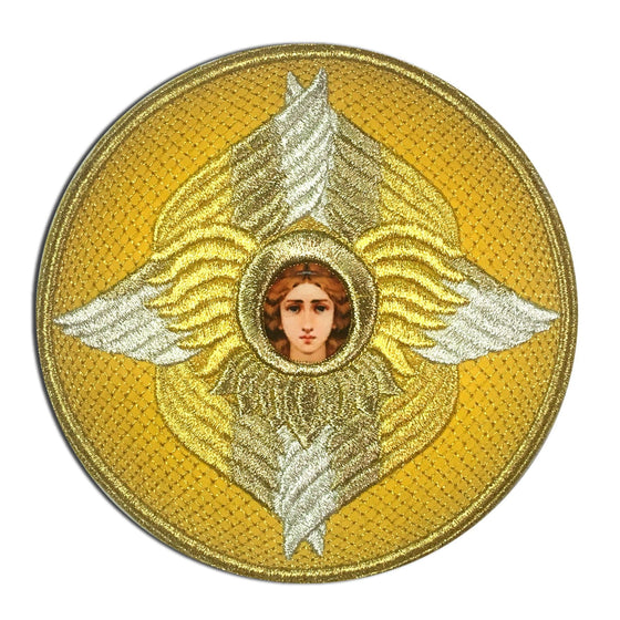 Embroidered Chalice Cover (Gold)