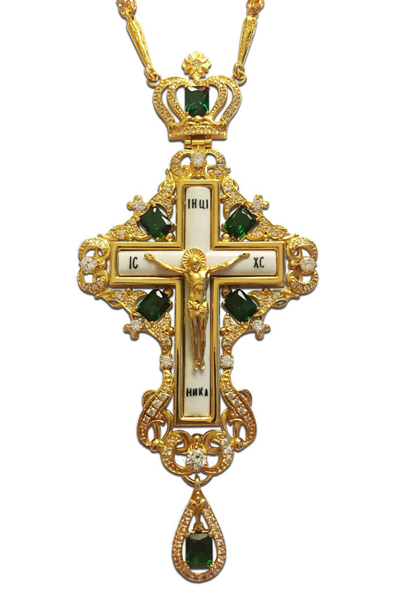 """Good Shepherd"" Jeweled Pectoral Cross"