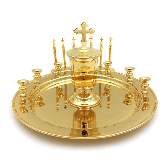 Holy Unction Kit: Gold-plated