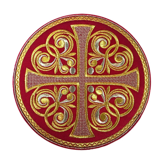 Round Chalice Cover (Cross)