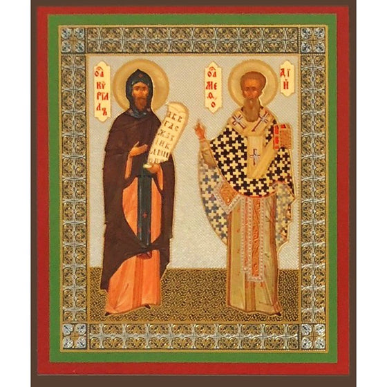 St. Cyril & St. Methodius Icon