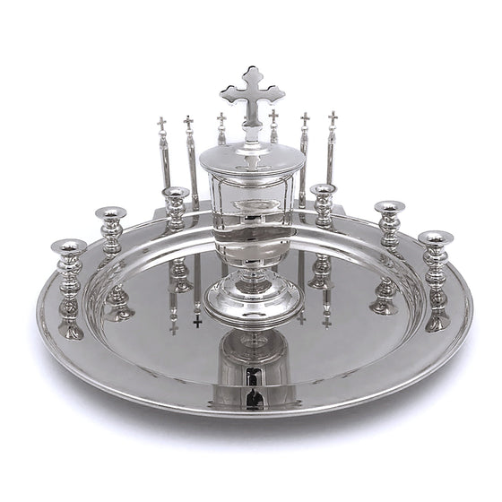 Holy Unction Kit: Nickel-plated
