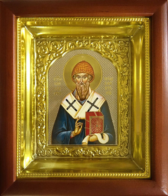 St. Spyridon the Wonderworker and Bishop of Tremithus Icon