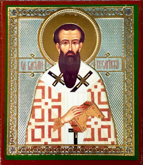 St. Basil the Great Archbishop of Caesarea Icon