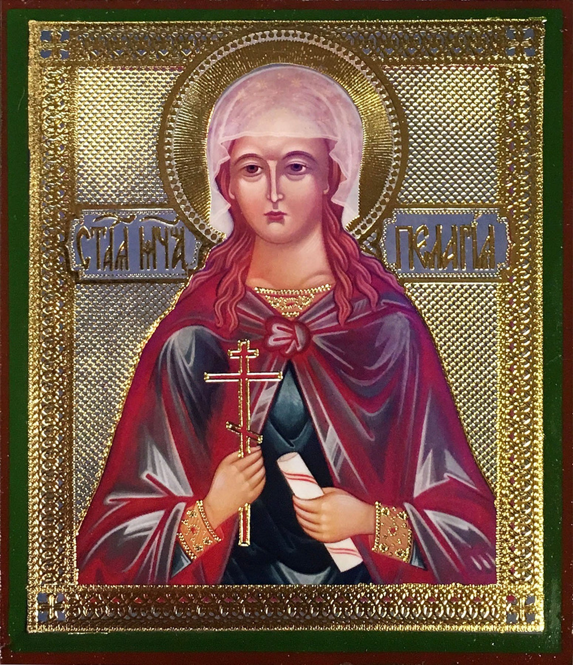St. Pelagia the Martyr Icon