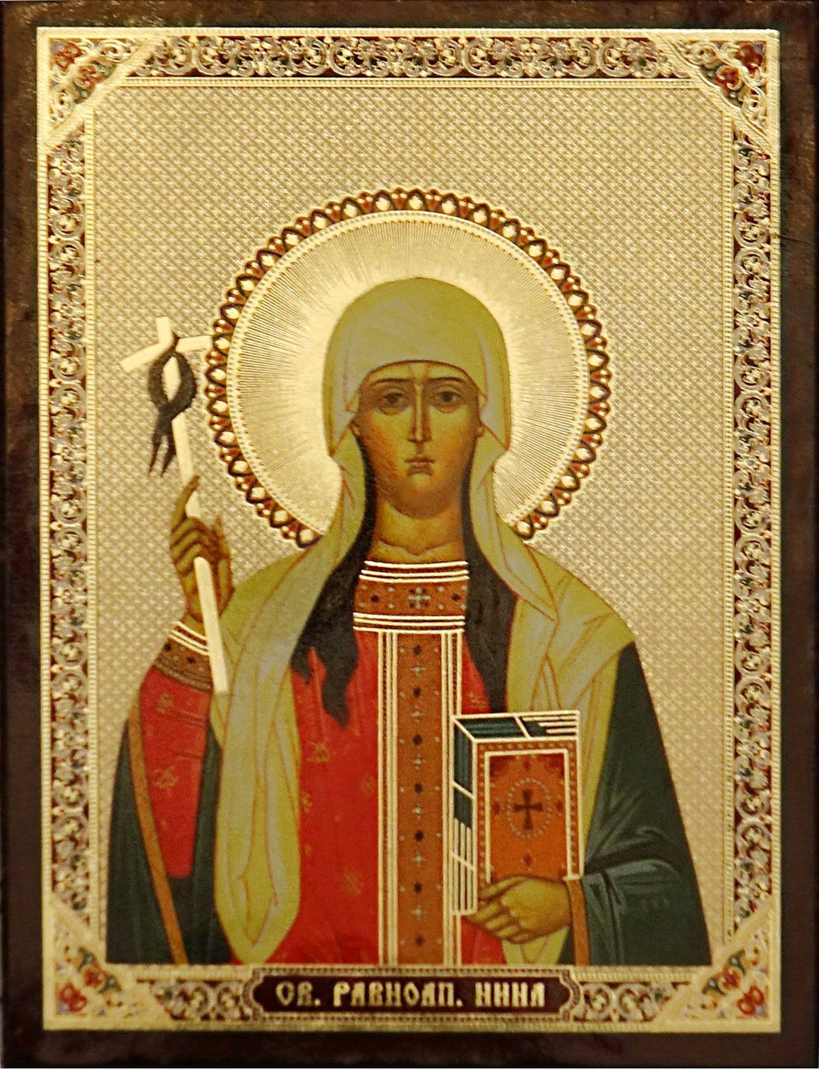 St. Nina, Enlightener of Georgia Icon