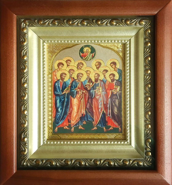 Synaxis of the Twelve Apostles Icon
