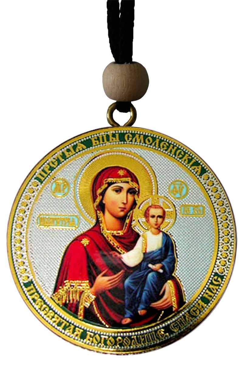 "Hanging Icon: ""Smolensk"" Theotokos & Christ the Savior"