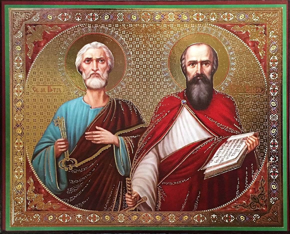 St. Peter & St. Paul the Apostles Icon