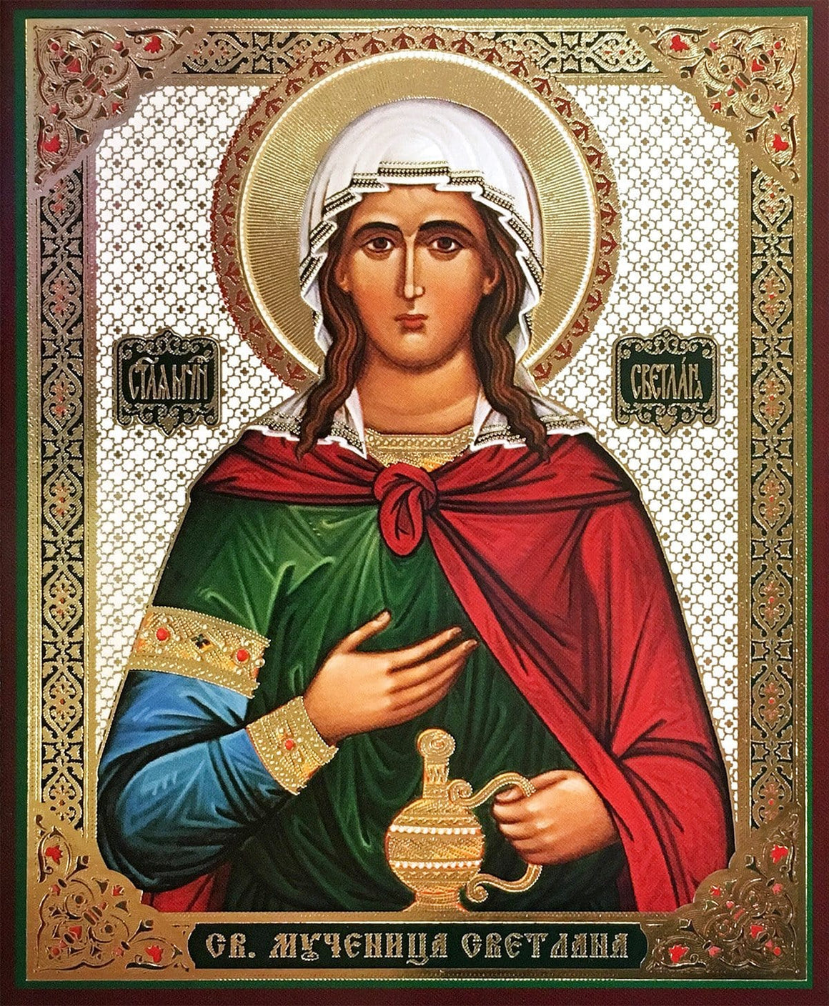 St. Photina the Martyr Icon (Svetlana)