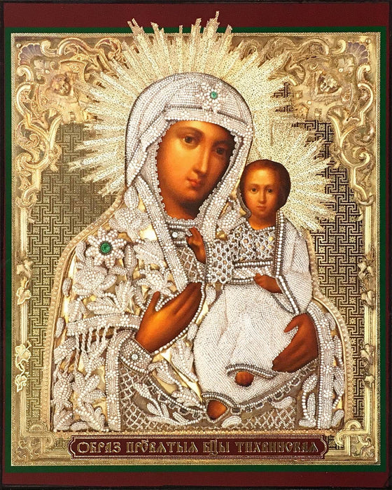 "Mother of God ""of Tikhvin"" Icon (Тихвинская)"