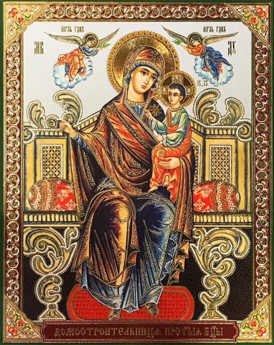 "Mother of God ""Builder of Homes"" Icon (Домостроительница)"