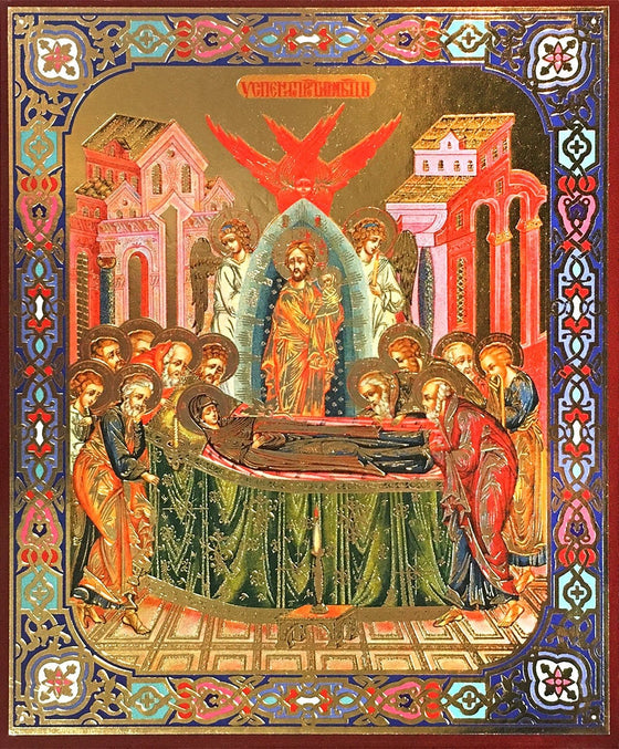 Feast Day of the Dormition of the Mother of God Icon