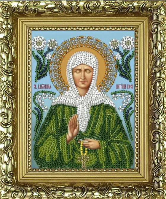 Icon Beading Kit: St. Matrona of Moscow