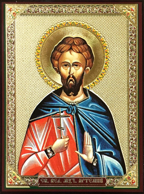 St. Artemius the Great Martyr Icon