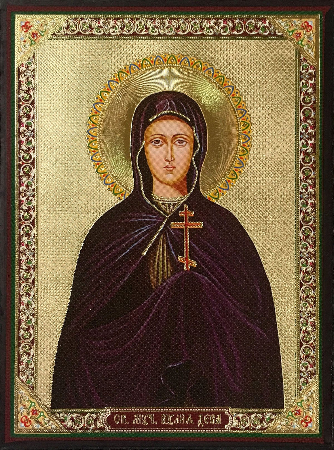 St. Julia the Virginmartyr of Ancyra Icon (Yulia)