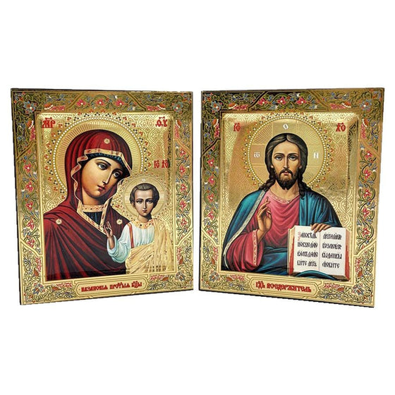 Pair of Wedding Icons: Small