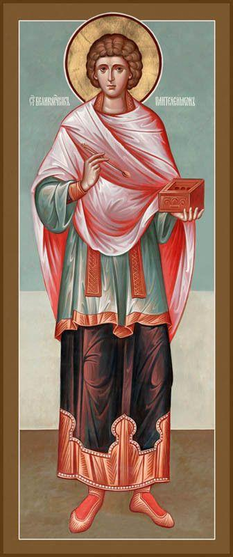 St. Panteleimon the Greatmartyr and Healer Icon