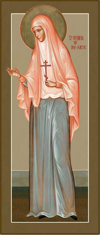 St. Elizabeth the New Martyr Icon