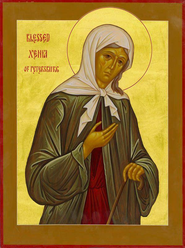 St. Ksenia of St Petersburg Icon (Xenia)