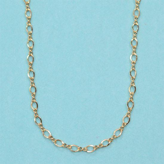 Egg Pendant Chain (Gold Filled)