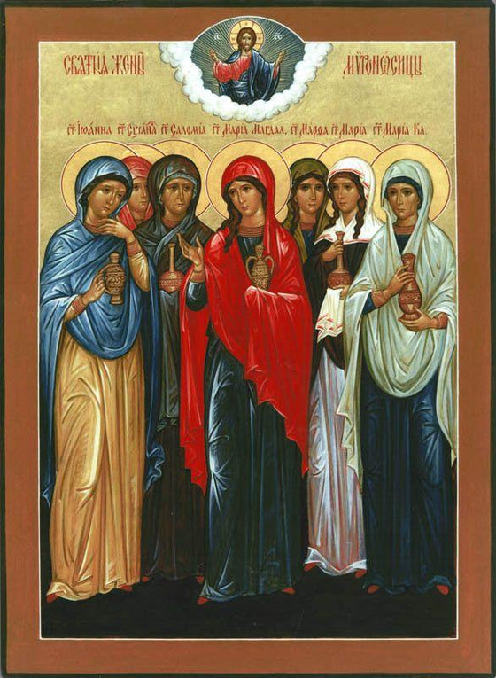 Myrrhbearing Women Icon