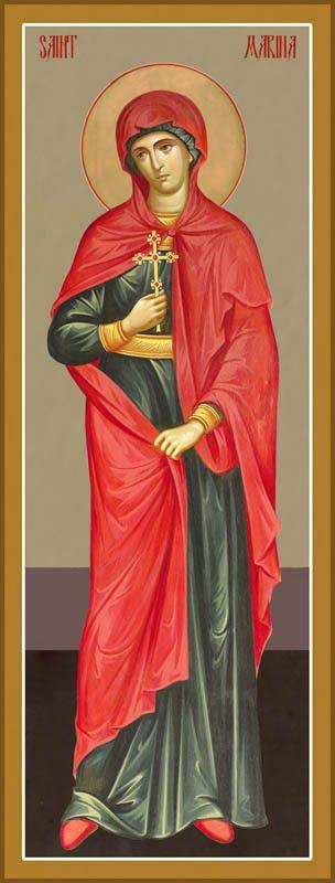 St. Marina (Margaret) the Great Martyr Icon