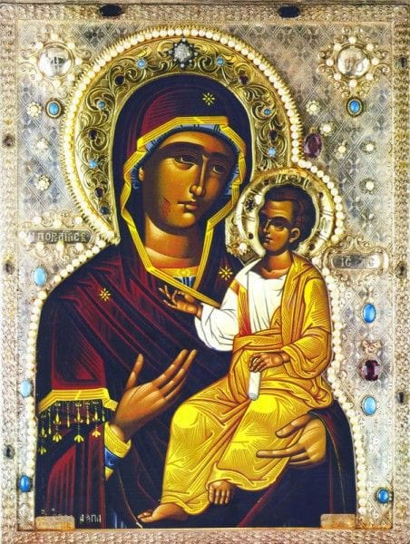 "Mother of God ""Iveron of Montreal"" Icon"