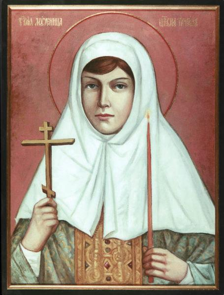 St. Tatiana (Romanova), the New Martyr Icon