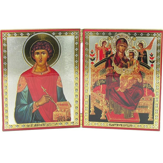 Diptych Icon of Healing