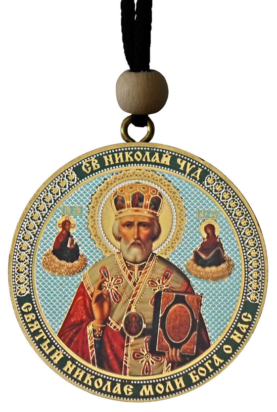 Hanging Icon: St. Nicholas & Christ the Savior