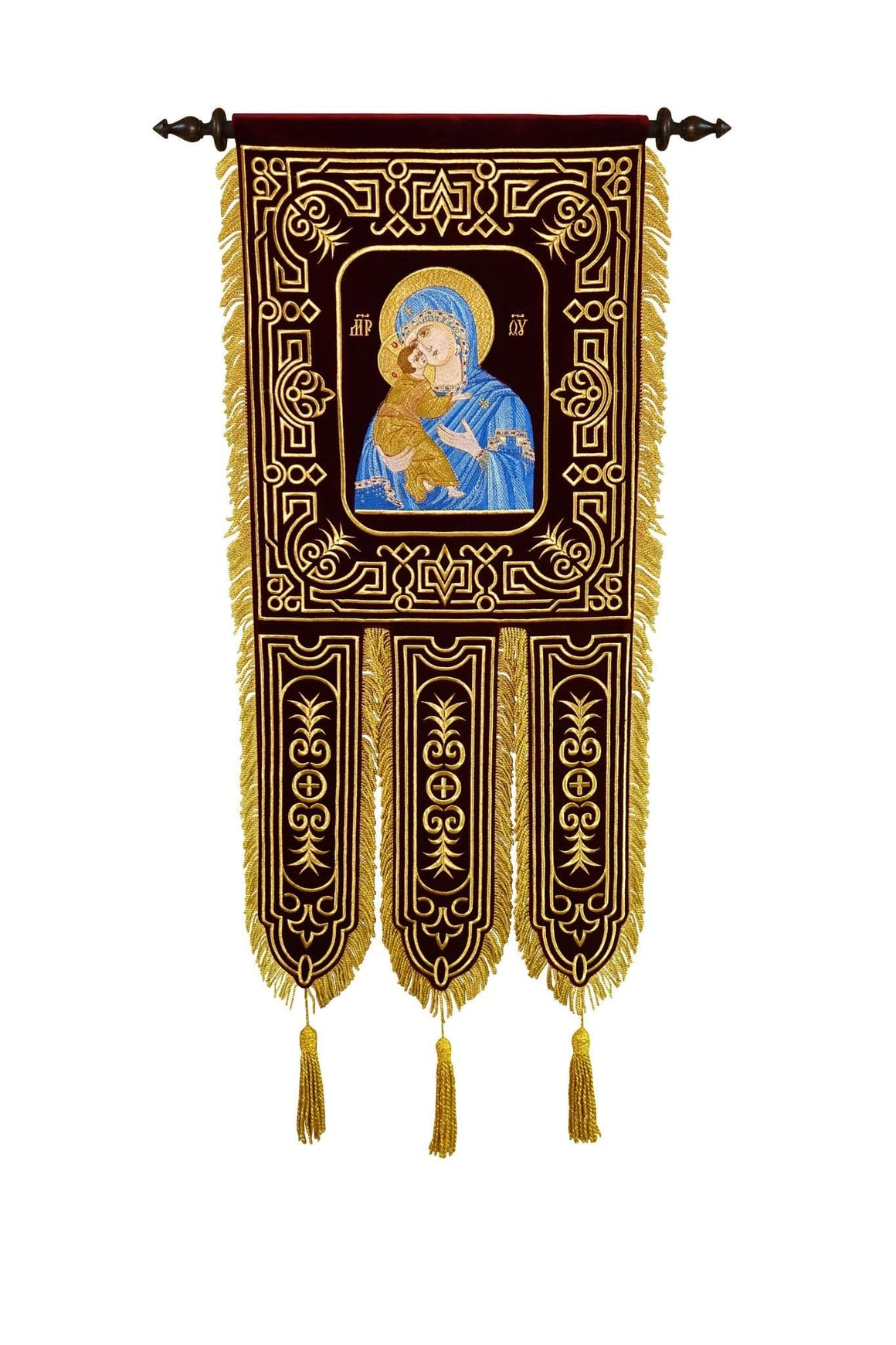 Embroidered Processional Banners (set of 2)