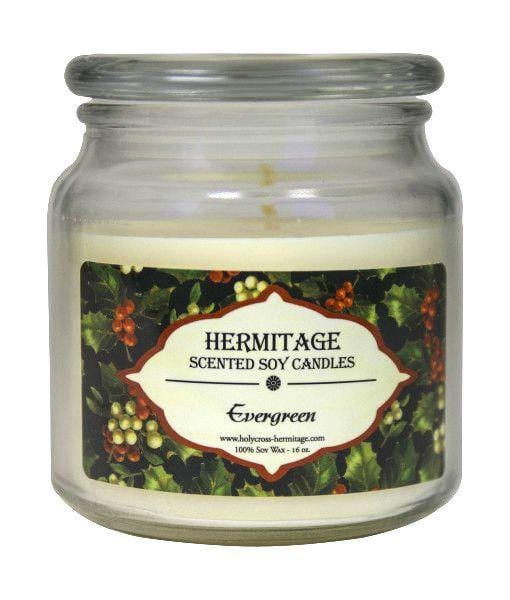 Soy Candle: Evergreen
