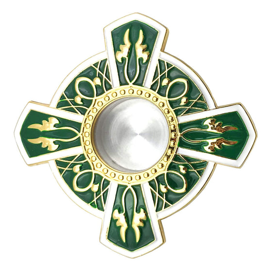 Icon Reliquary: Green Enamel (Large)