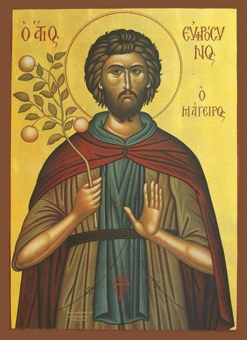 St. Euphrosynos the Cook Icon